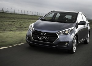 Novo Hyundai HB20 chega ao Brasil custando R$ 58 mil